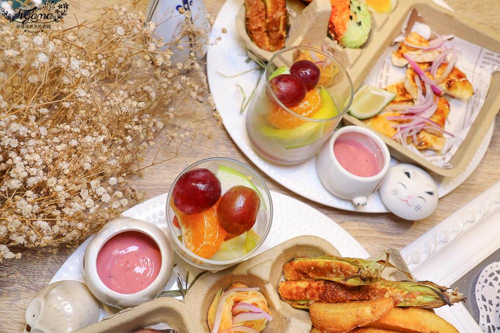 台南早午餐|也野餐參,享受室內野餐樂趣!也有出租野餐籃服務唷~ @緹雅瑪 美食旅遊趣