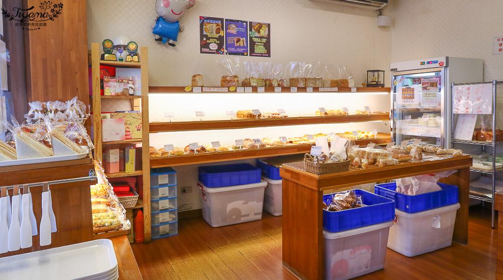 台南麵包|咿吉麵包坊,內行人才知…巷弄內的好滋味,近好市多 @緹雅瑪 美食旅遊趣