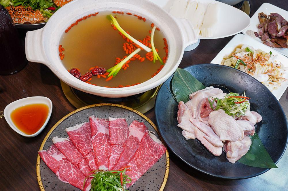 台南花雕雞,就愛這一味!廚房有雞~花雕螃蟹鍋,肥美秋蟹來囉 @緹雅瑪 美食旅遊趣