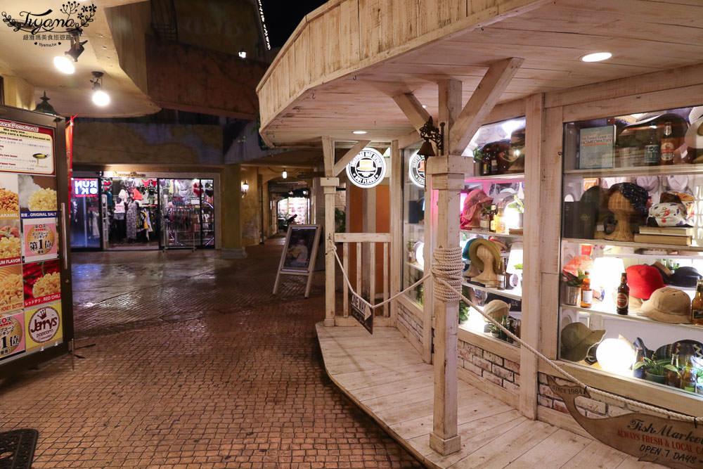 沖繩美國村,吃完晚餐夜遊美國村,買藥妝、衣服,shopping去! @緹雅瑪 美食旅遊趣