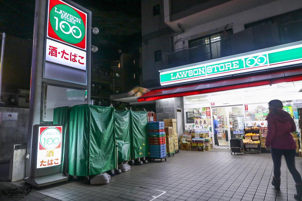 日本百元超商,LAWSON 100元商店,多款超值108日元2人份火鍋湯包,限量超大份量特盛日清兵衛豆皮烏龍麵 @緹雅瑪 美食旅遊趣
