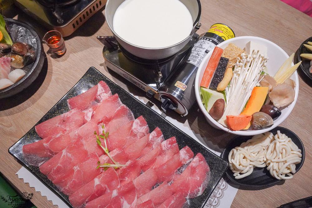 嘉義火鍋,上上籤吉品涮涮鍋~肉控最愛,11盎司大肉盤火鍋套餐只要268元,飲料任你暢飲! @緹雅瑪 美食旅遊趣