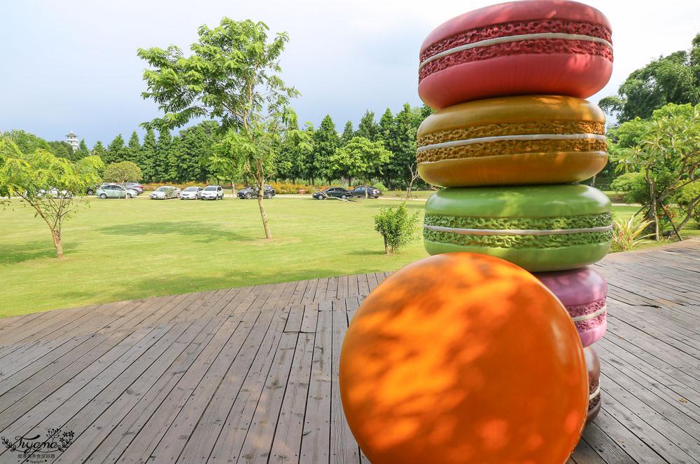 雲林景點|菓風巧克力工房,巨大馬卡龍、沙坑、下午茶,眾多創意巧思巧克力糖果商品任你選 @緹雅瑪 美食旅遊趣