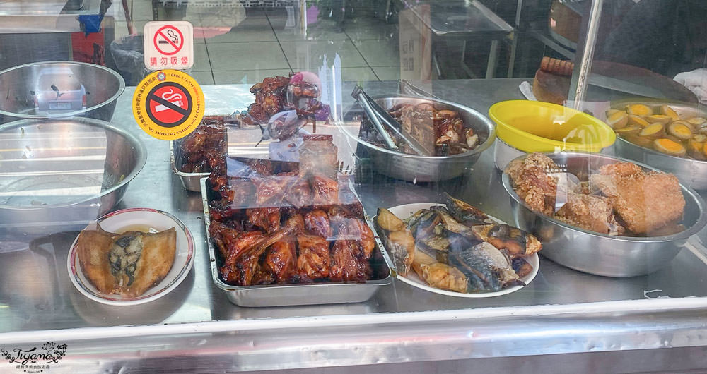 台南好吃烤雞腿便當「明珠便當」,吃過就愛上,回訪N次推薦!! @緹雅瑪 美食旅遊趣