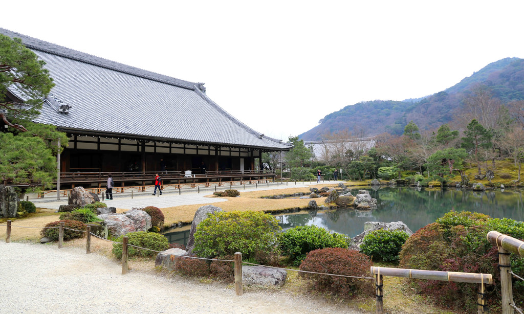 【京都景點】嵐山必遊:天龍寺.嵐山公園.渡月橋 @緹雅瑪 美食旅遊趣