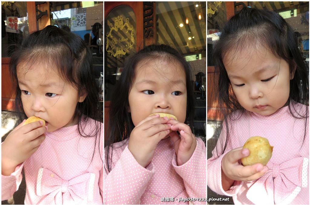 【台南.中西區】國華街「碳烤鮮果雞蛋糕」:木炭烤出的雞蛋糕,你吃過嗎? @緹雅瑪 美食旅遊趣