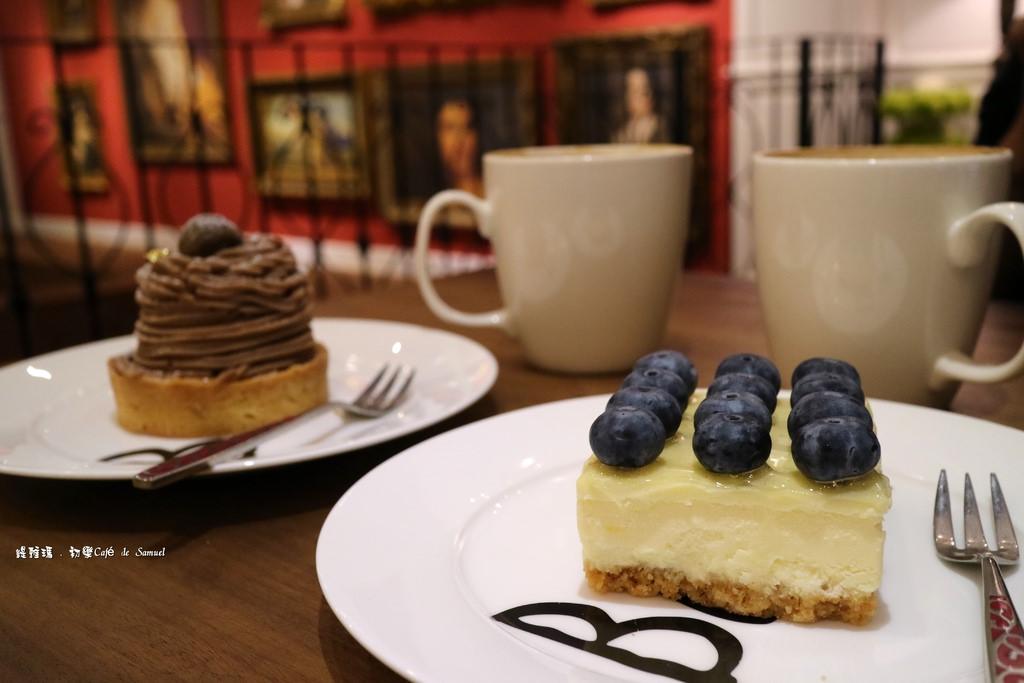 【宜蘭.礁溪鄉】初樂 Café de Samuel。法式甜點餐廳:沈浸在法式氛圍中的迷人咖啡館!! @緹雅瑪 美食旅遊趣