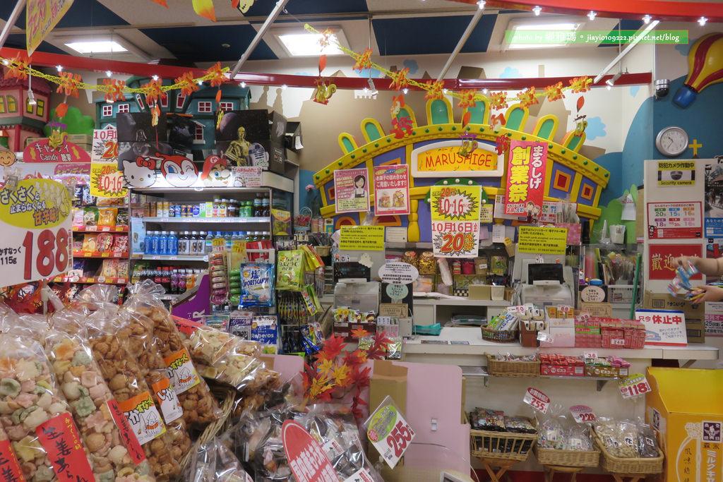 【大阪購物】Marushige「まるしげ-零食大王」。日本橋店:日本のお菓子世界「台灣友善店」 @緹雅瑪 美食旅遊趣