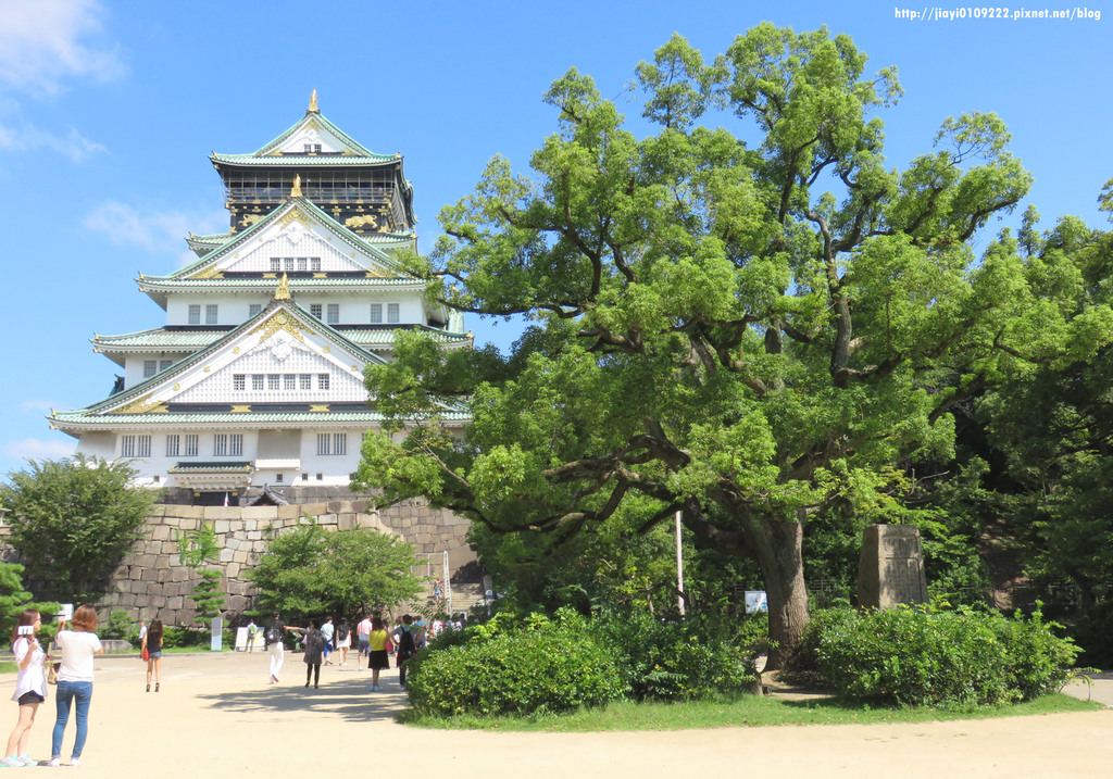 【大阪周遊卡】大阪城天守閣.必遊景點 @緹雅瑪 美食旅遊趣