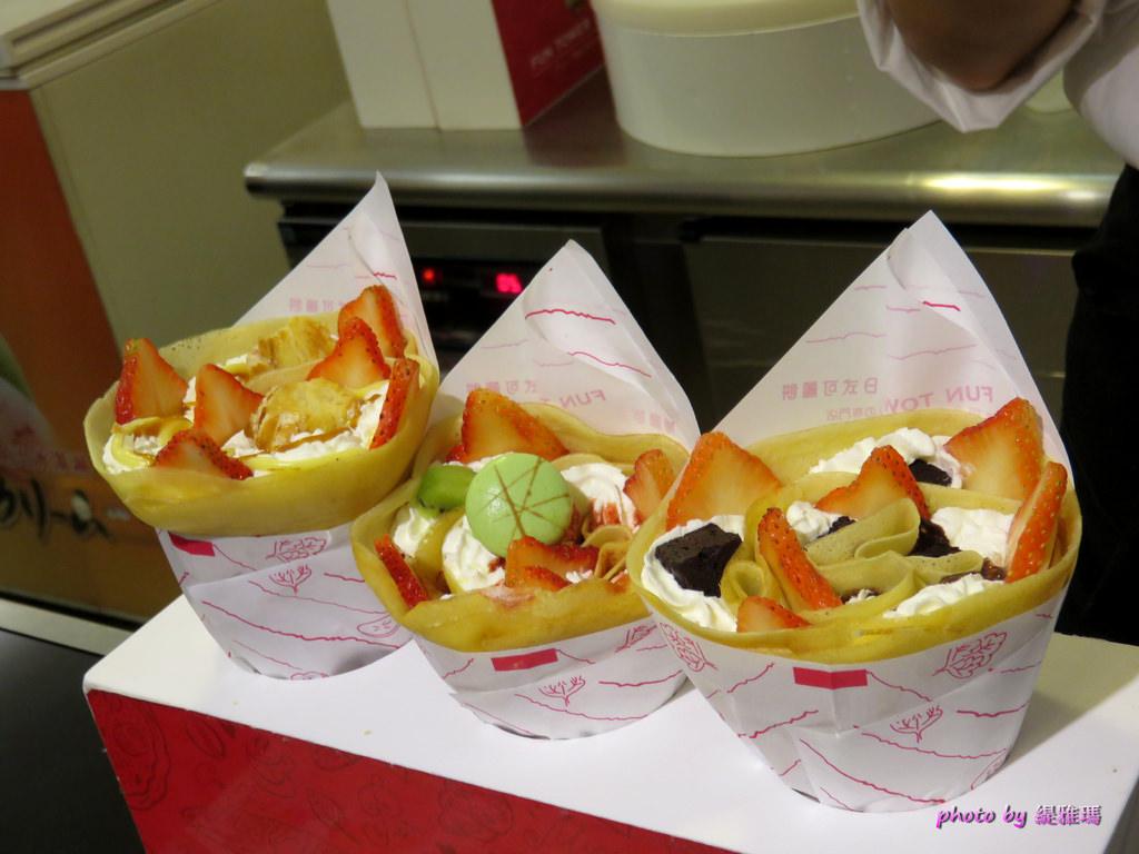 【台南.東區】Fun Tower 日本軟式可麗餅。散步甜食:女孩們的最愛「繽粉日式可麗餅」,超多口味任君選擇 @緹雅瑪 美食旅遊趣