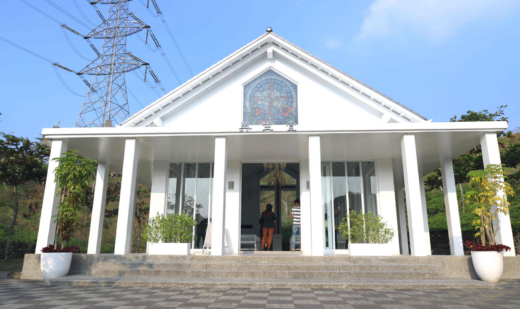 【台南熱門景點】隱田山房。白色教堂:日式建築+白色教堂,世外桃源般的莊園 @緹雅瑪 美食旅遊趣