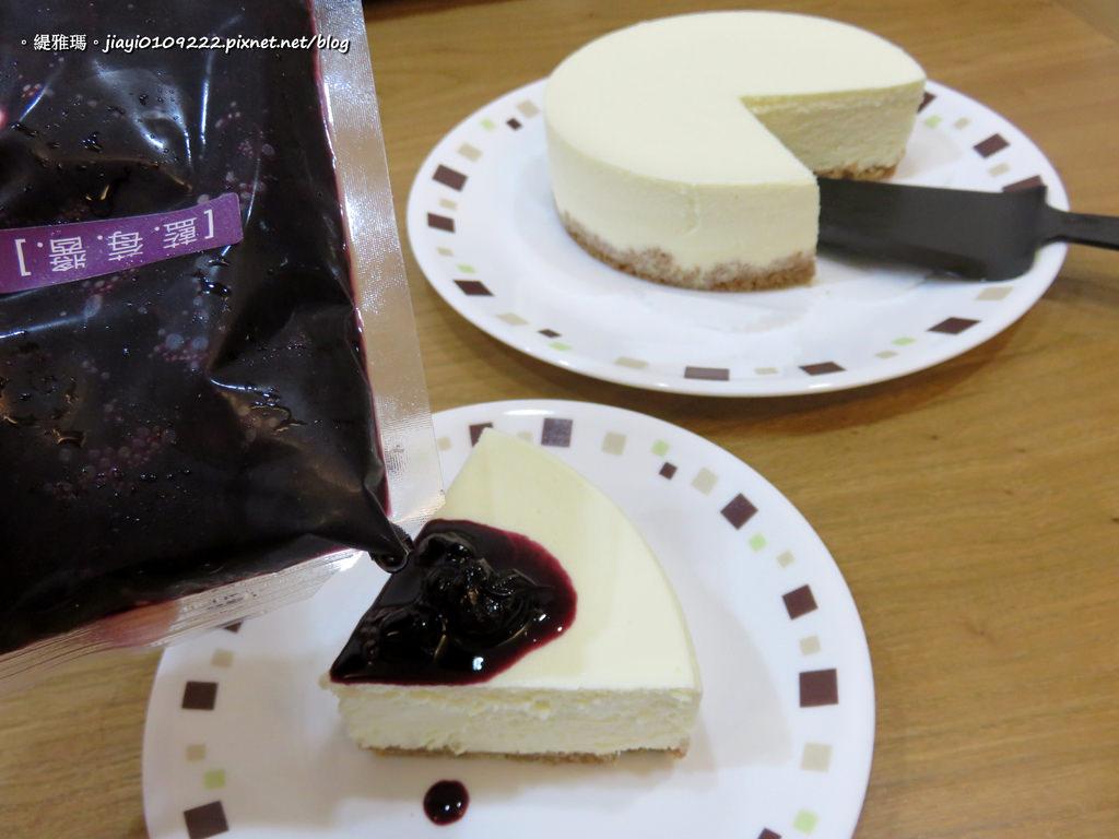 【全省宅配】Cake After Tomorrow:「日克」純濃起司+藍莓醬,極細緻綿密口感,幸福好滋味! @緹雅瑪 美食旅遊趣