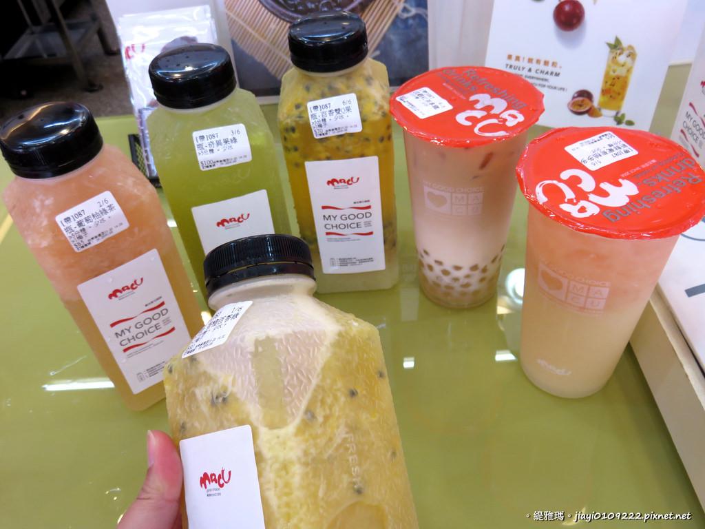 【台南.東區】麻古茶坊。台南崇德店:新鮮天然水果茶飲,絕得喝得到果粒! @緹雅瑪 美食旅遊趣