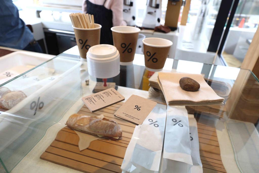 【京都美食】% Arabica Kyoto Arashiyama。嵐山必訪:簡單咖啡中的不平凡咖啡,絕佳美景中的一杯拿鐵! @緹雅瑪 美食旅遊趣