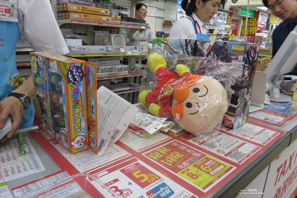 【大阪購物】BIC CAMERA。難波店 7樓:玩具、鋼彈模型 @緹雅瑪 美食旅遊趣