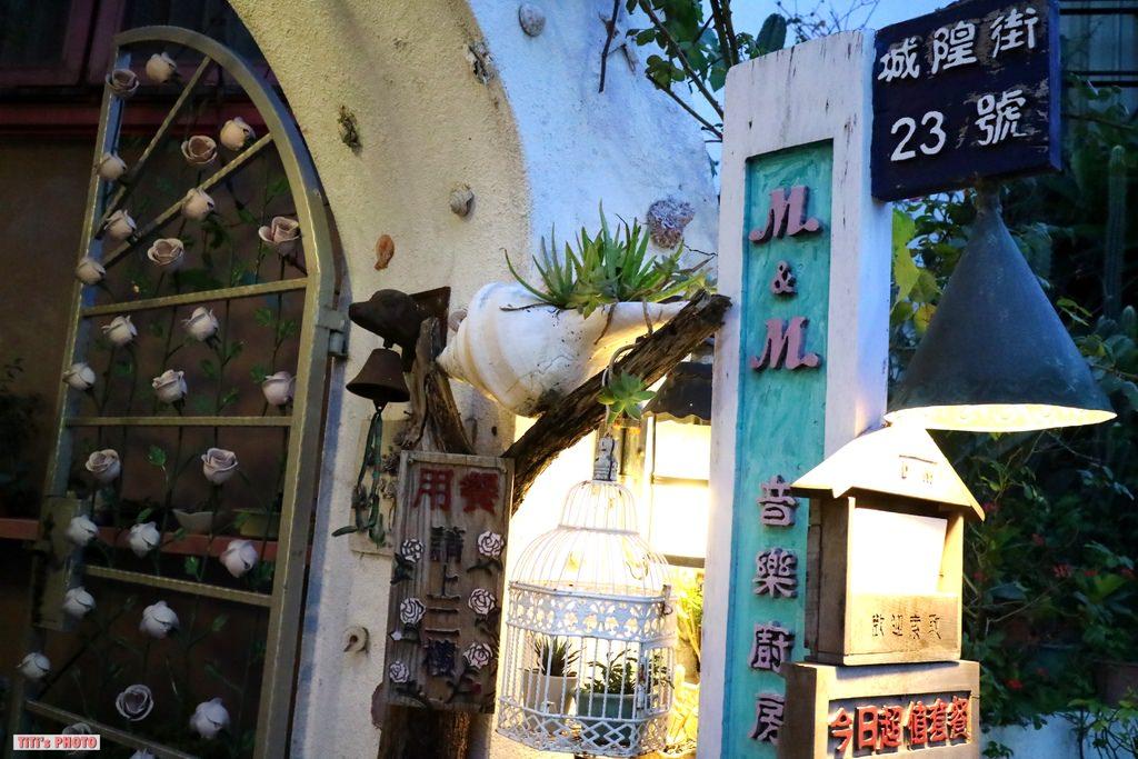 【台南.中西區】M&M音樂廚房。老屋欣力:藝術品大收藏,老屋中的美味義式、法國料理!! @緹雅瑪 美食旅遊趣