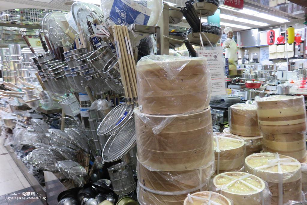 【大阪購物】千日前道具屋筋商店街:餐具、廚具、佈置道具挖寶好去處 @緹雅瑪 美食旅遊趣