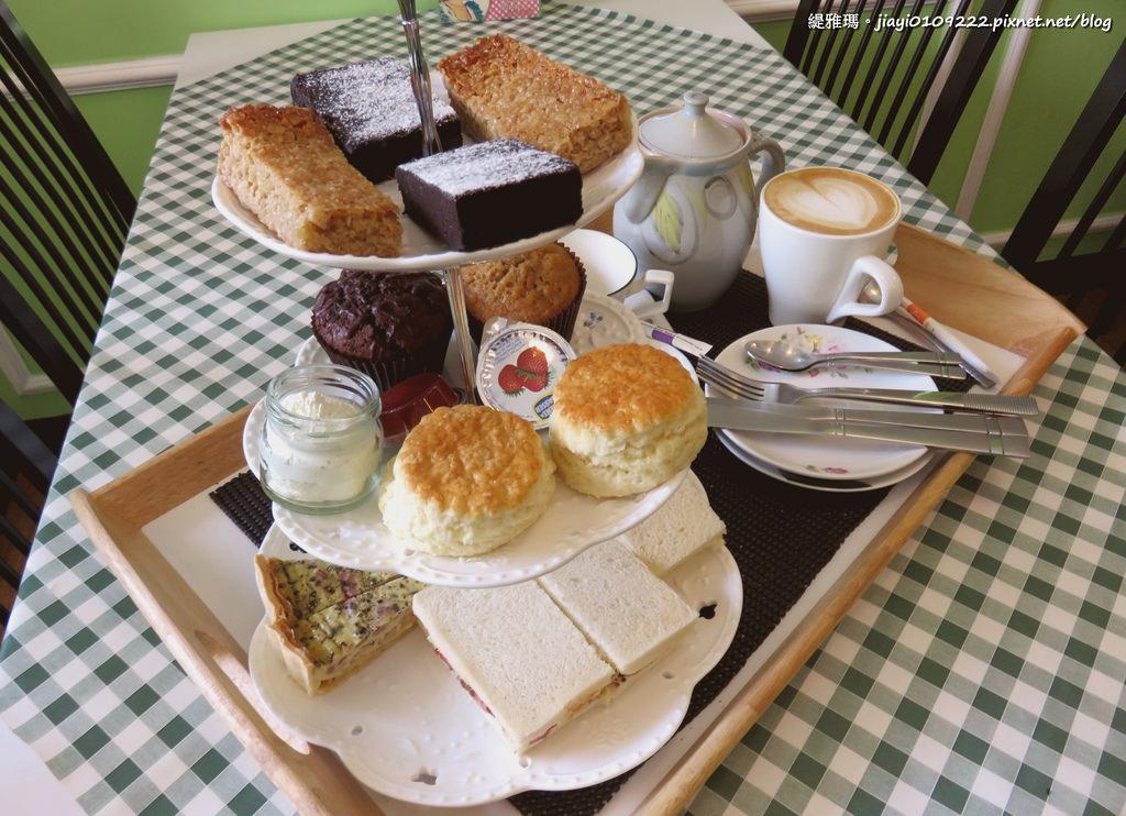 【台南.中西區】Daisy's Tearoom。正統英式下午茶:純正道地英式下午茶「司康、鹹派、布朗尼」我喜歡 @緹雅瑪 美食旅遊趣