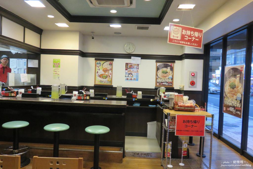 【大阪美食】なか卯。なんさん通店:超便宜烏龍麵.蕎麥麵.丼飯なか卯 @緹雅瑪 美食旅遊趣